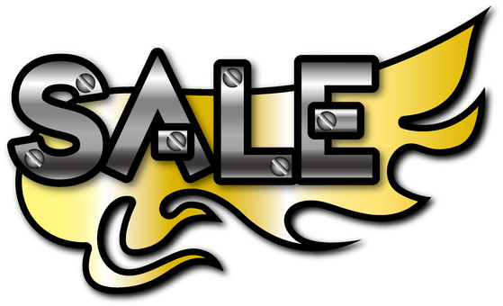 Flame Sale (Gold Steel)