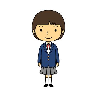 小學生製服女孩4