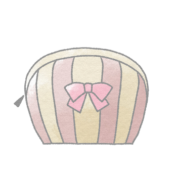Cosmetics _ Pouch (Pink)