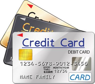 Credit card 3 set B