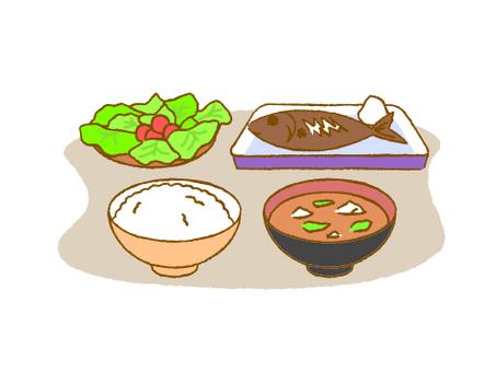 일반적인 식사