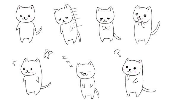고양이 다양한 ⑴
