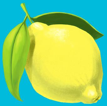 레몬 잎 함께