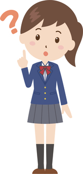 Girls | High School Students | Uniform | Hatena