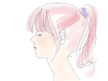 Girl who feels