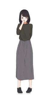 Pattern ② Female 20 (20's)
