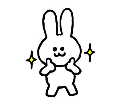 像兔子一樣(動物簡單)