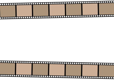 Film frame <Upper / lower>