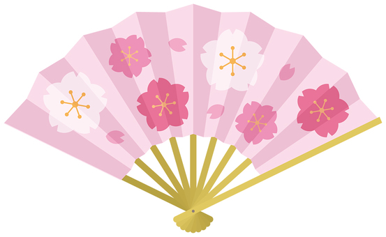 Fan - 05 (cherry blossoms)