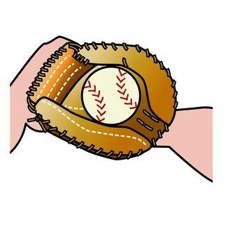 글러브와 야구
