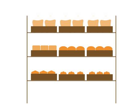 Bread display rack 2