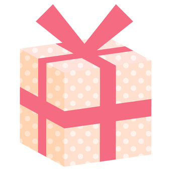 Present box (solid) pink · dot