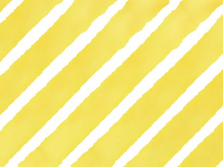 Watercolor thick island Shima yellow