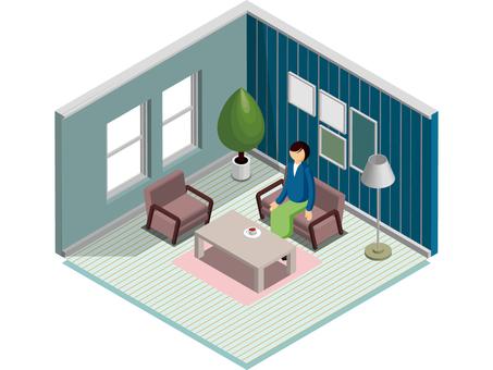 Simple interior -1