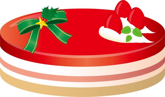 딸기의 크리스마스 케이크 (무스?)