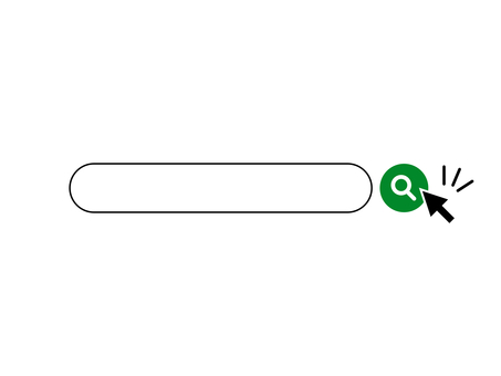 Search Window Search Bar Search Magnifying Glass Green