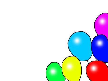 Frame balloons