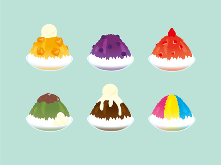 Gorgeous shaved ice