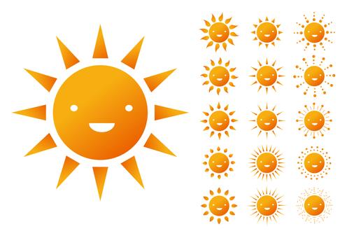 쨍쨍 태양의 변형