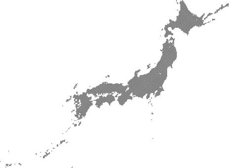 Dot Japan Map a