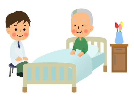 爺爺有醫生請病房
