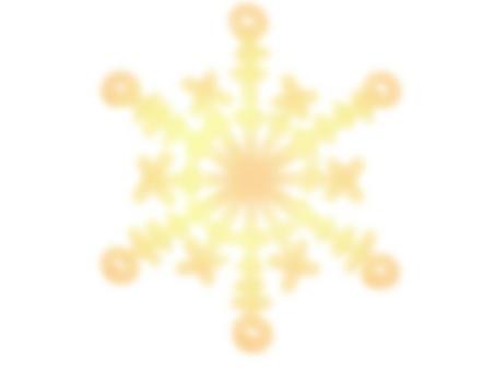 눈송이 2 (황색)
