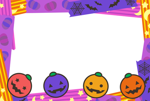 Halloween frame 01