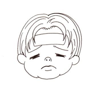 A boy in a cold Pita