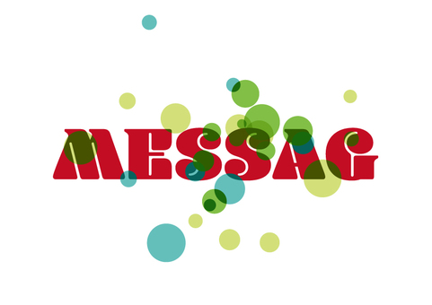 Message plate 001