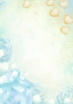 White day background illustration
