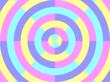 Concentric circles_colorful_1