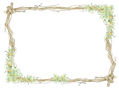 Akiba and olive decorative frame, ★ 0455-F