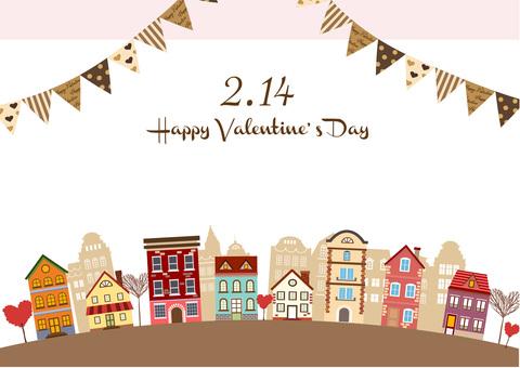 Valentine Illustration 20 Townscape