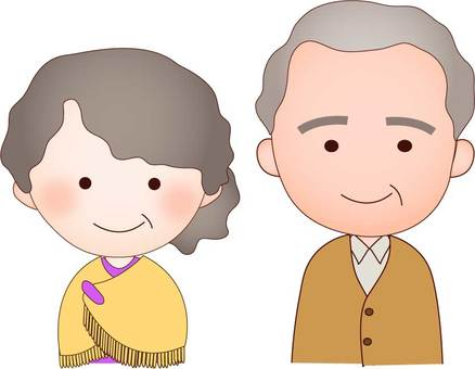 Two elderly people
