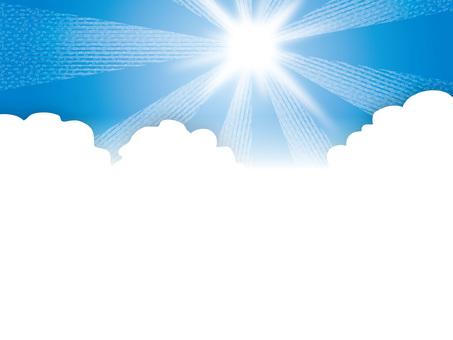 太陽和四季(17)雲和陽光