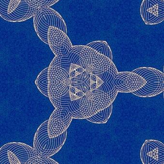 Geometrical pattern spirograph