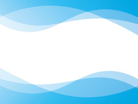 Background wave blue