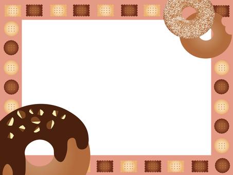 프레임 (도넛 & 쿠키)