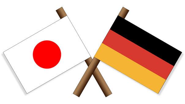 Flag Japan × Germany