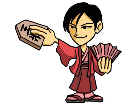 Arranging Shogi Man