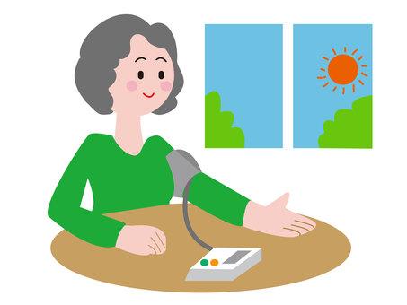 Morning blood pressure measurement