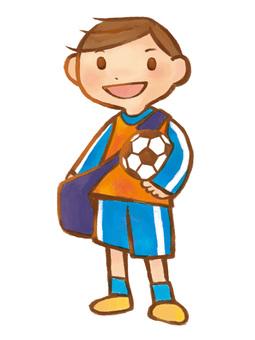 A_ elementary school_ boy