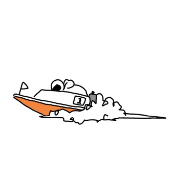 Racing boat 1