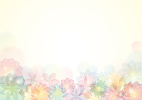 Elegant flower background