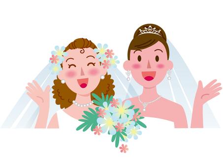 여성끼리의 결혼 -3