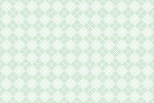 Argyle pattern background green