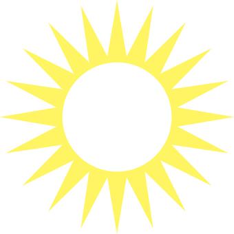 간단한 태양