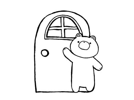 Doors and Bears 3 of 1
