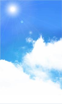 한여름의 하늘 02