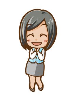 女商人(微笑)
